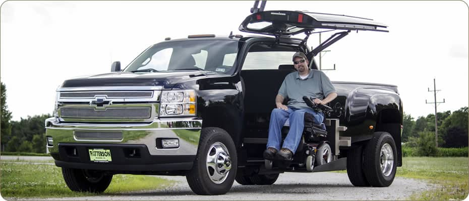 Wheelchair Accessible Chevy Silverado 2500 Driver Side Conversion