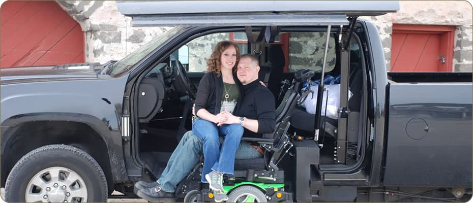 Power Wheelchair Driver Side Conversion