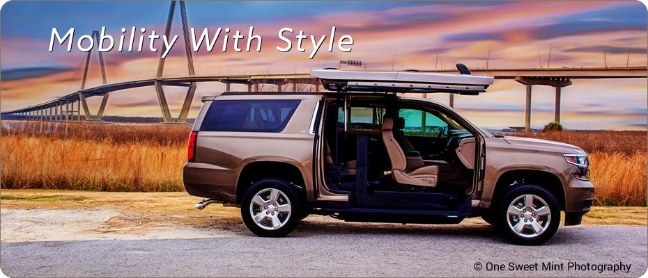 wheelchair accessible vehicles trucks suvs atc. Black Bedroom Furniture Sets. Home Design Ideas