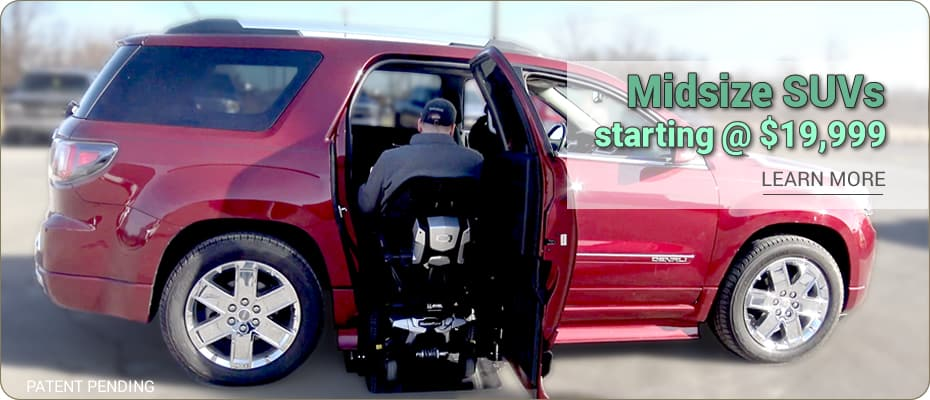 Wheelchair Accessible Suvs Chevy Gmc Buick Cadillac