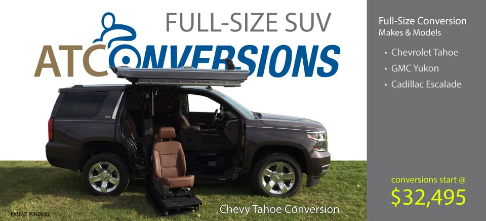 ATC Full-Size SUV Conversion Lineup