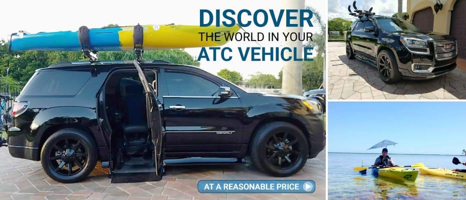 Wheelchair Accessible Vehicles Trucks Suvs Atc