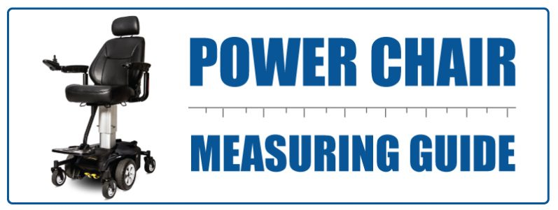 Power Chair Measuring Guide
