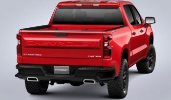 2021 Chevrolet Silverado 1500 4WD Crew Cab Custom Trail Boss full